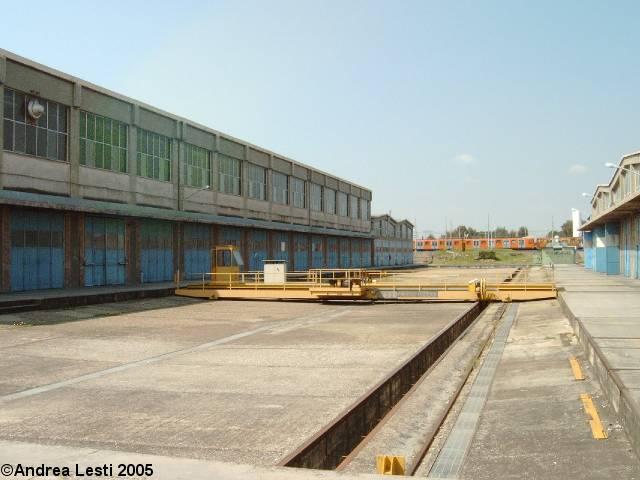 Osteria del curato il deposito officina della metro a di for Ponte da officina