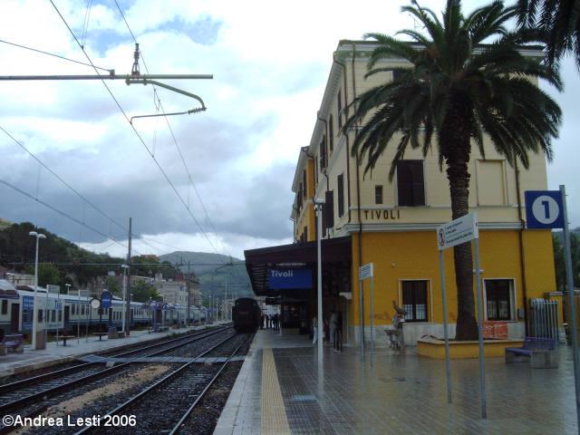 Treno Speciale a Vapore Roma - Tivoli 4/6/2006